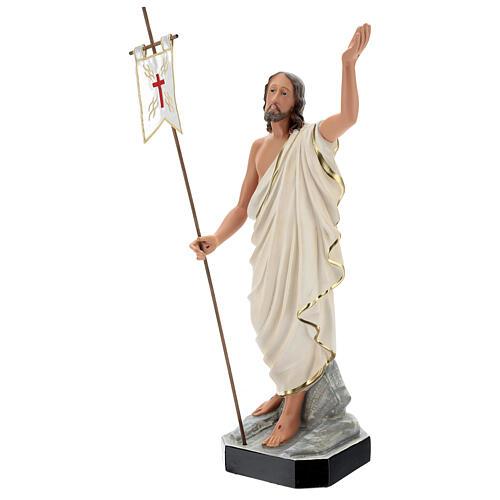 Statue Résine Christ Ressuscité 65 cm peinte main Arte Barsanti 3