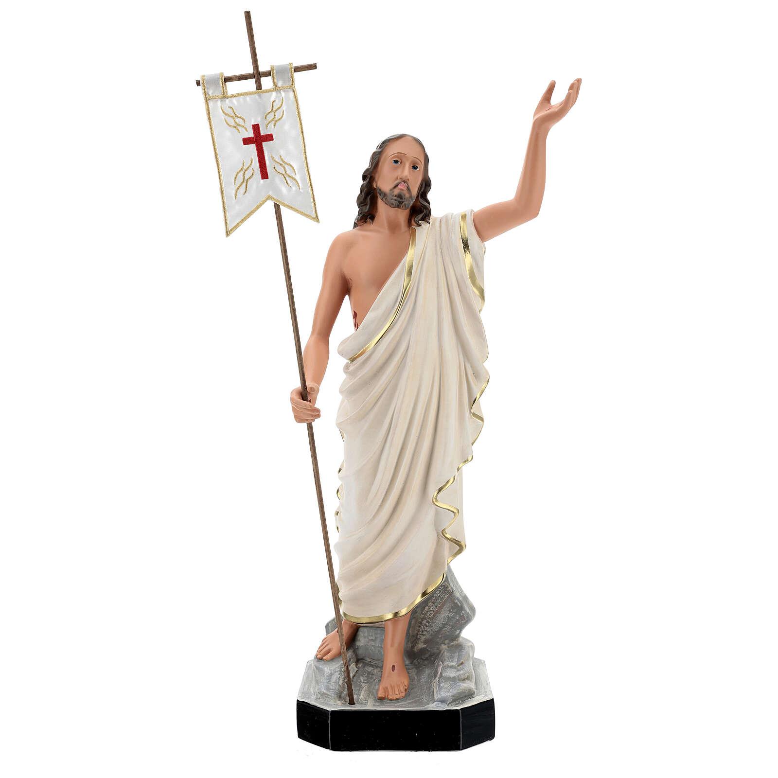 Risen Christ statue, 65 cm hand painted resin Arte Barsanti 4