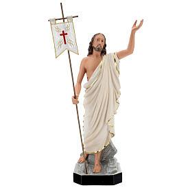 Risen Christ statue, 65 cm hand painted resin Arte Barsanti s1
