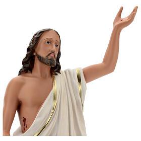 Risen Christ statue, 65 cm hand painted resin Arte Barsanti s2