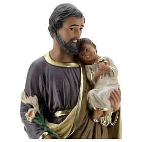 Statua San Giuseppe 30 cm gesso dipinto a mano Arte Barsanti s2