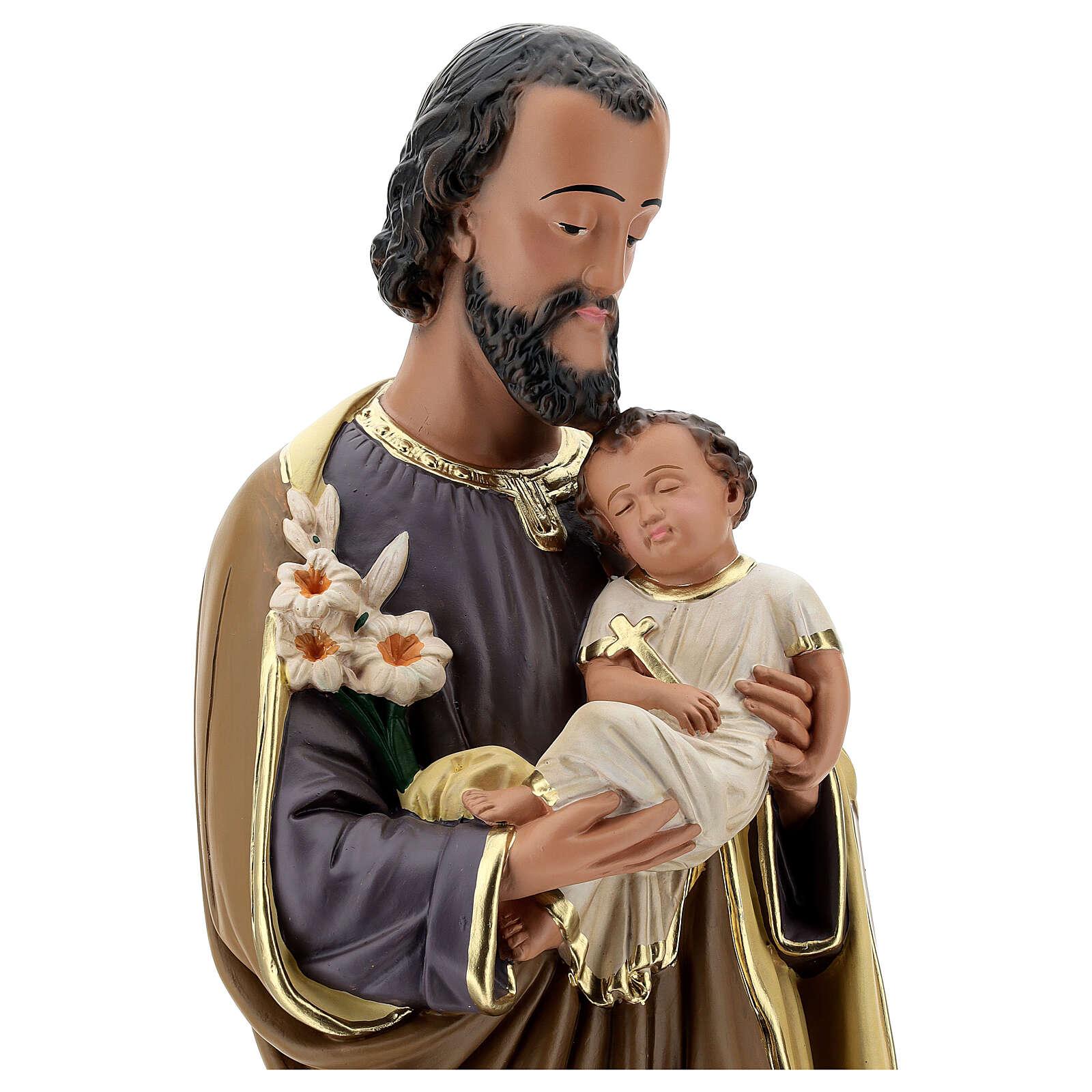St. Joseph with baby 60 cm Arte Barsanti 4