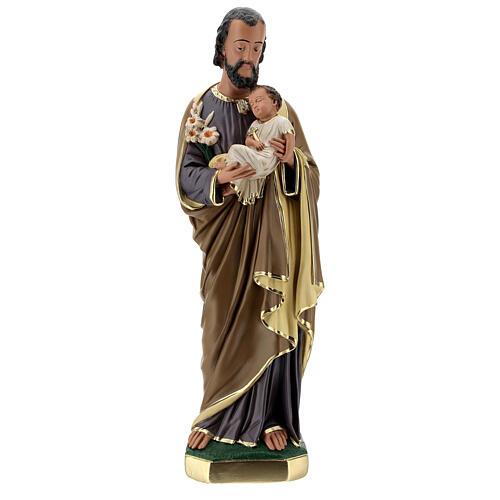 San José Niño estatua yeso 60 cm Arte Barsanti 1
