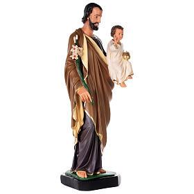 St. Joseph Arte Barsanti plaster statue 80 cm s4