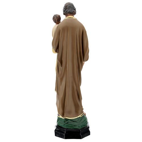 Saint Joseph Enfant Jésus 65 cm statue résine peinte main Arte Barsanti 6