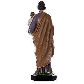 Statue Saint Joseph Enfant 85 cm résine peinte à la main Arte Barsanti s5