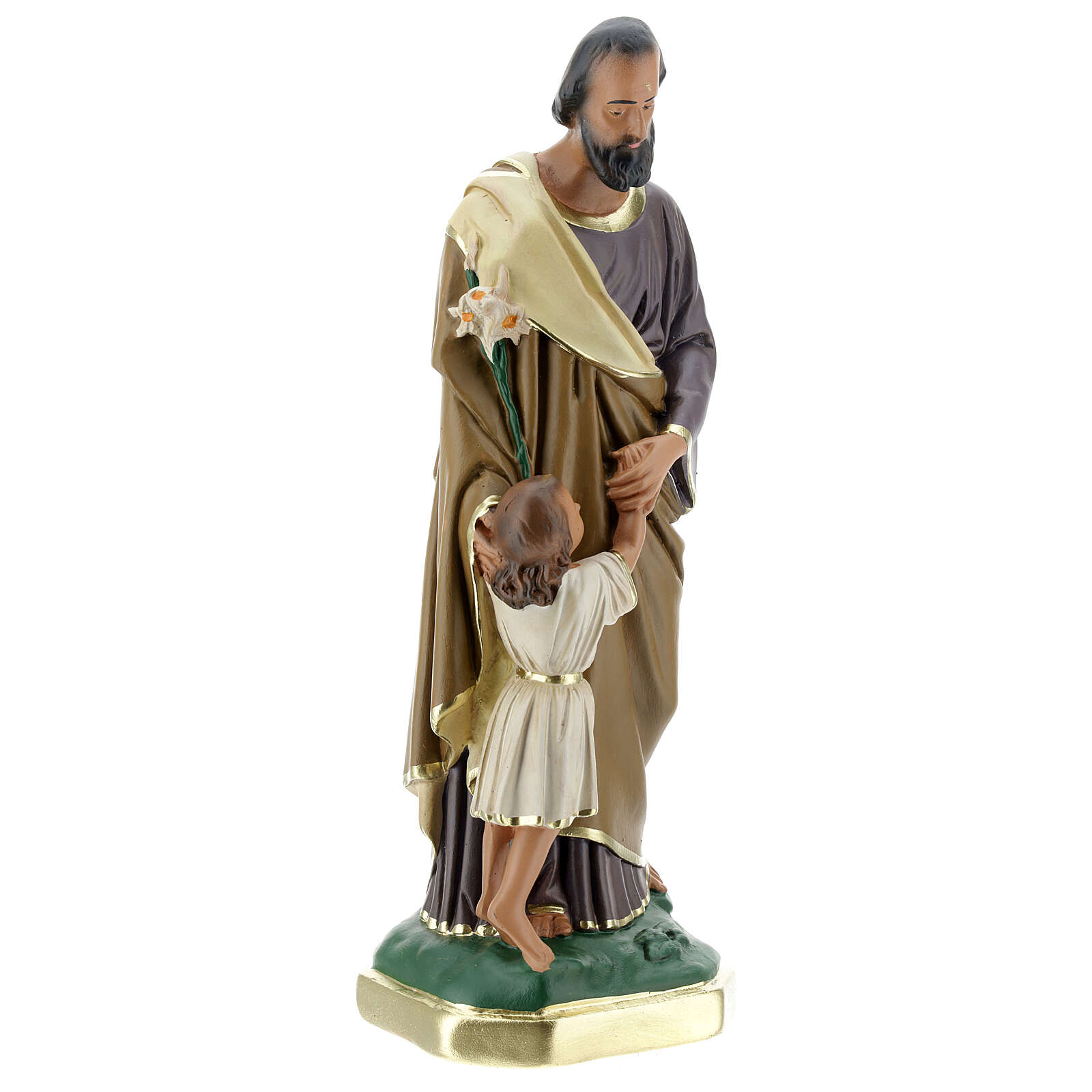 St. Joseph with Baby 30 cm Arte Barsanti 4