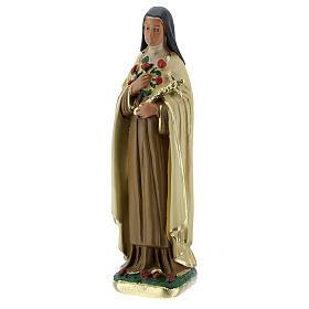 Santa Teresa del Bambino Gesù statua gesso 15 cm Arte Barsanti s2