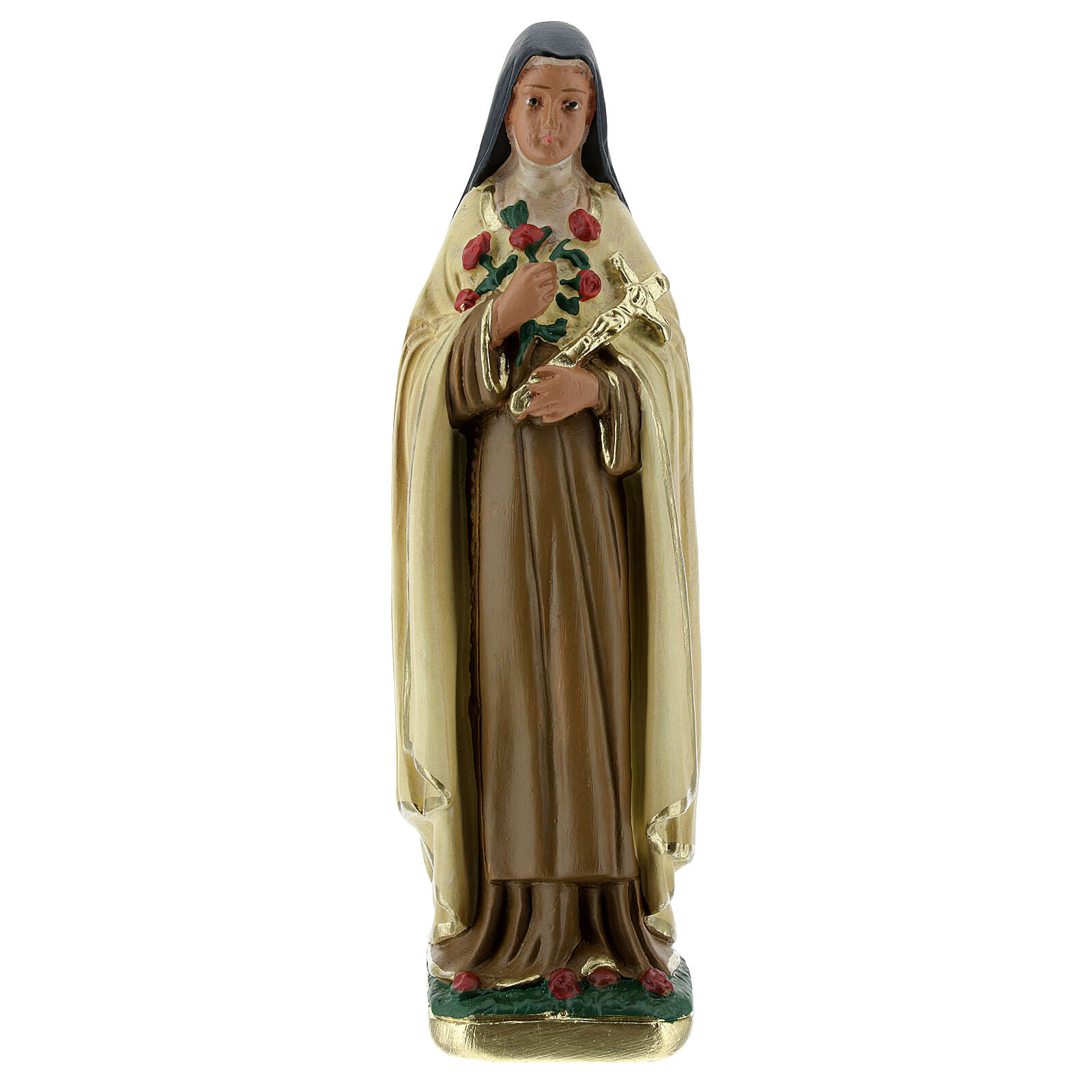 Saint Therese statue, 15 cm in plaster Arte Barsanti 4