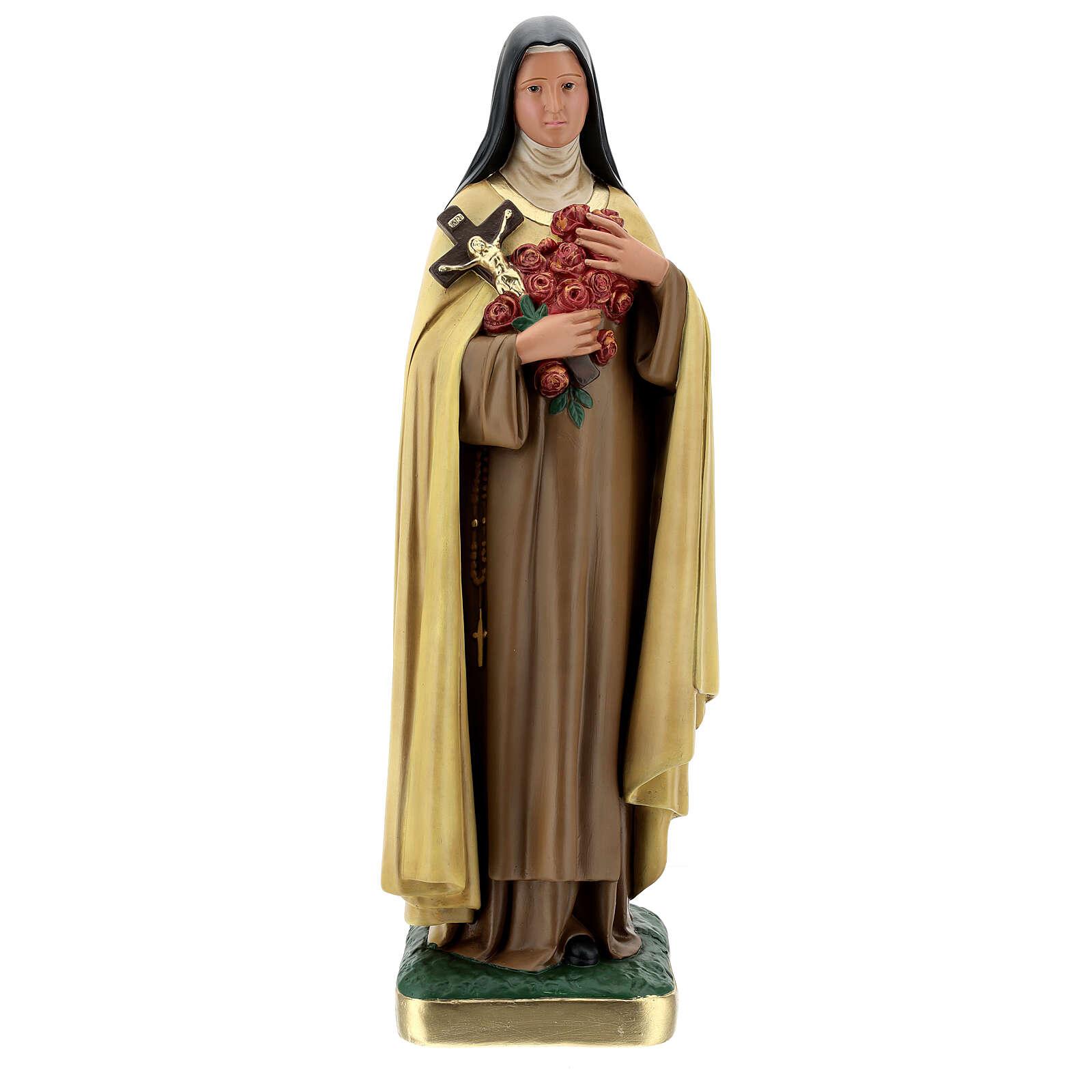Statue aus Gips Heilige Therese vom Kinde Jesu von Arte Barsanti, 60 cm 4
