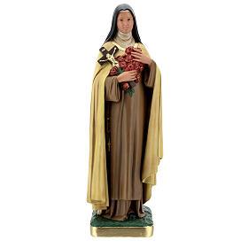 Statue aus Gips Heilige Therese vom Kinde Jesu von Arte Barsanti, 60 cm s1