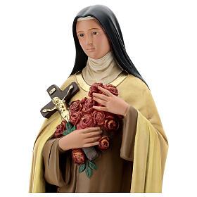 Statue aus Gips Heilige Therese vom Kinde Jesu von Arte Barsanti, 60 cm s4