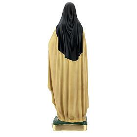Sainte Thérèse de l'Enfant-Jésus 60 cm statue plâtre Arte Barsanti s6
