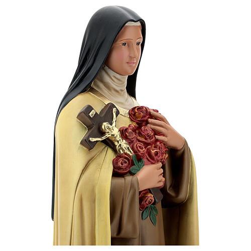 Sainte Thérèse de l'Enfant-Jésus 60 cm statue plâtre Arte Barsanti 2