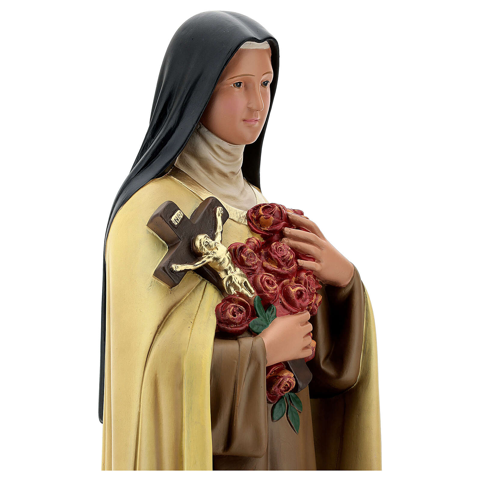 St Therese of the Child Jesus statue, 60 cm plaster Arte Barsanti 4