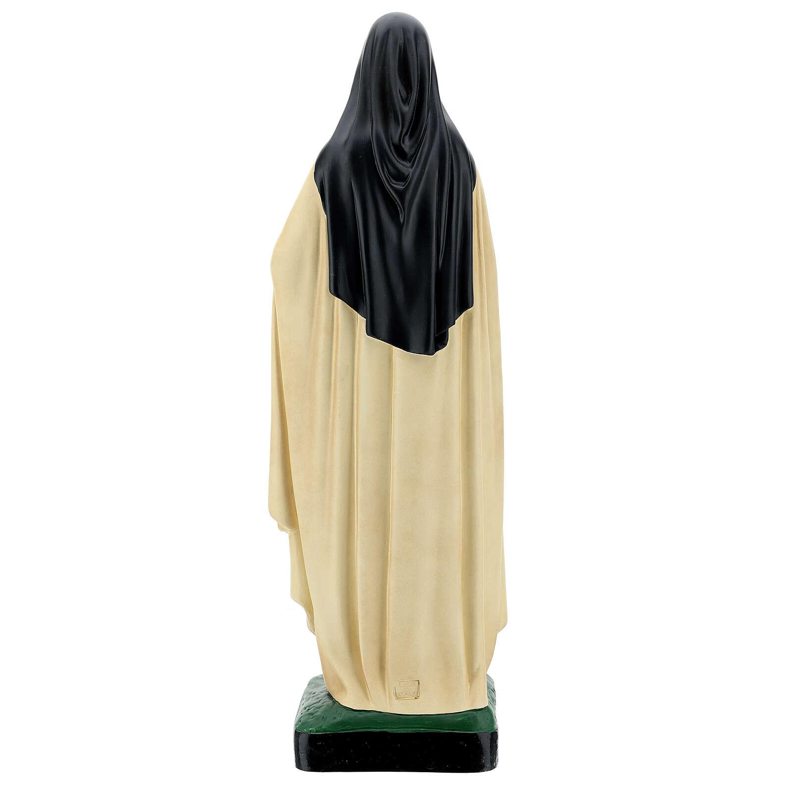 Statua Santa Teresa del Bambino Gesù 60 cm resina Arte Barsanti 4