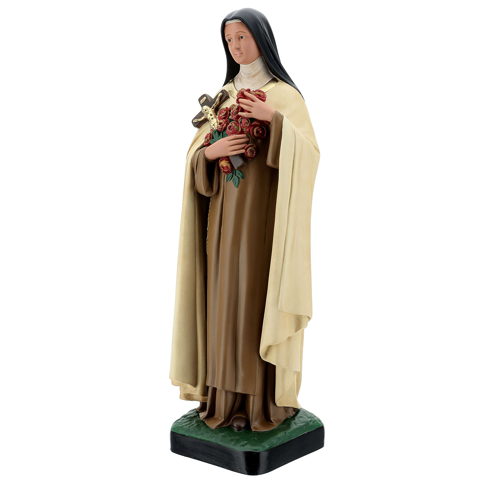 Santa Teresinha do Menino Jesus imagem resina Arte Barsanti 60 cm 4