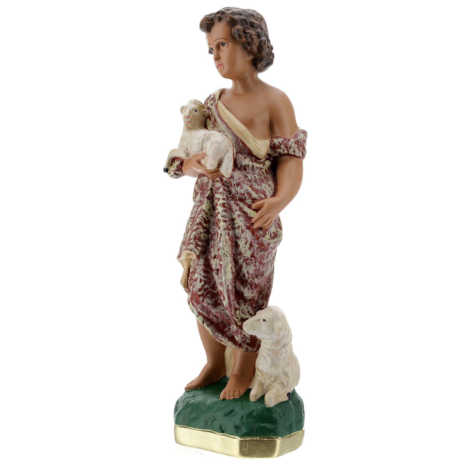 Young St. John the Baptist 30 cm Arte Barsanti 4