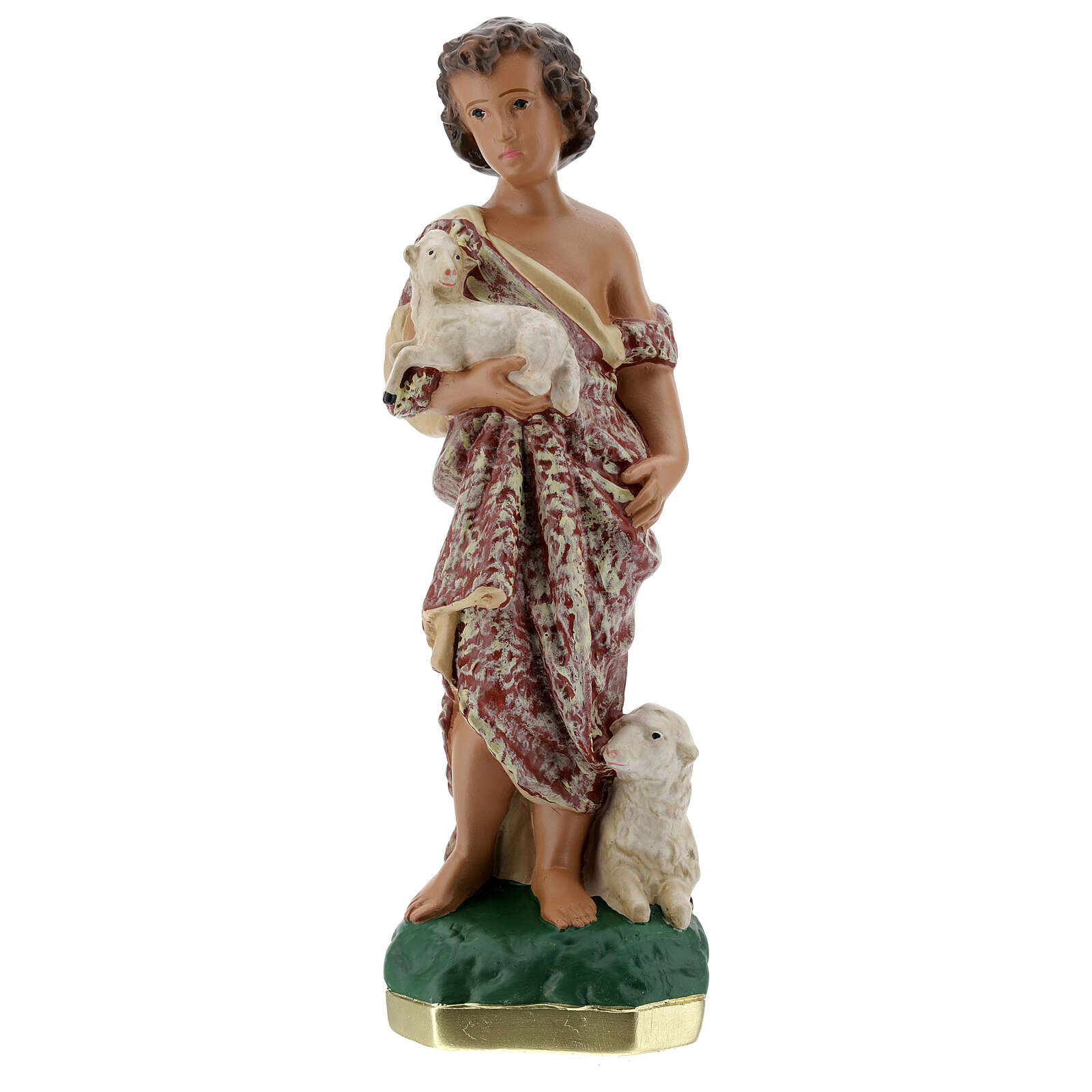 Child St. John the Baptist statue, 30 cm in plaster Arte Barsanti 4