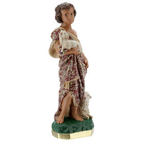 Child St. John the Baptist statue, 30 cm in plaster Arte Barsanti s5