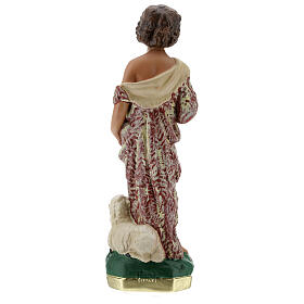 Child St. John the Baptist statue, 30 cm in plaster Arte Barsanti s7
