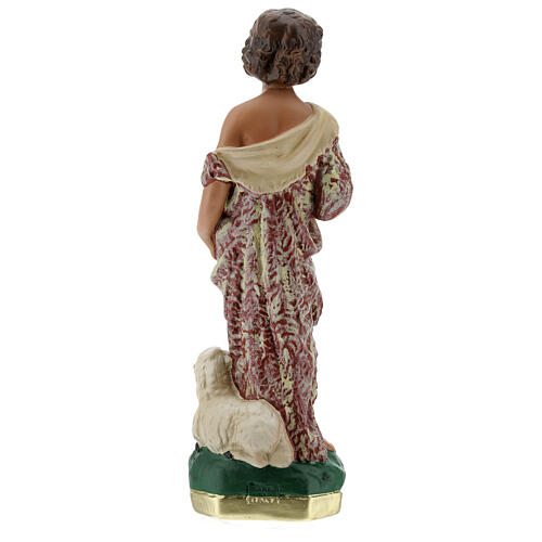 Child St. John the Baptist statue, 30 cm in plaster Arte Barsanti 7