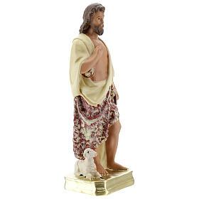 San Juan Bautista estatua yeso 30 cm Arte Barsanti s5