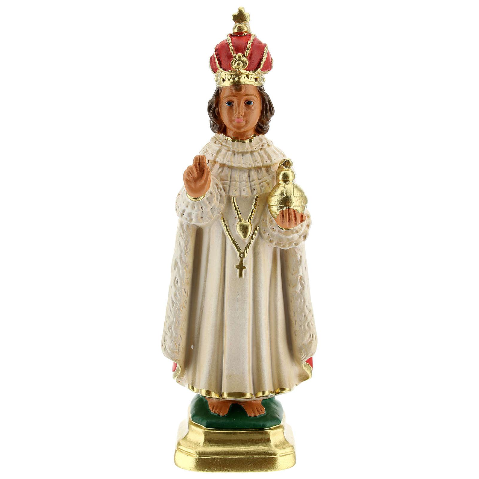 Niño de Praga estatua yeso 20 cm Arte Barsanti 4