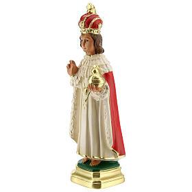 Niño de Praga estatua yeso 20 cm Arte Barsanti s2