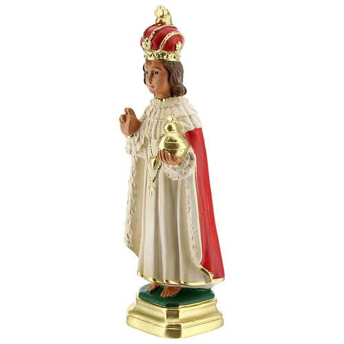 Niño de Praga estatua yeso 20 cm Arte Barsanti 2