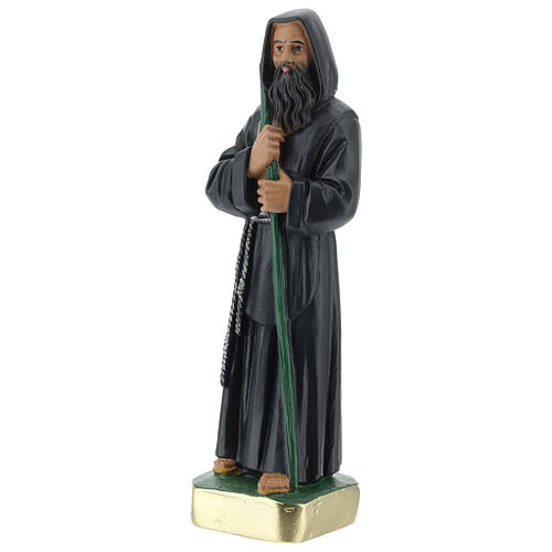 Statue of St Francis of Paola, 20 cm in plaster Arte Barsanti 3