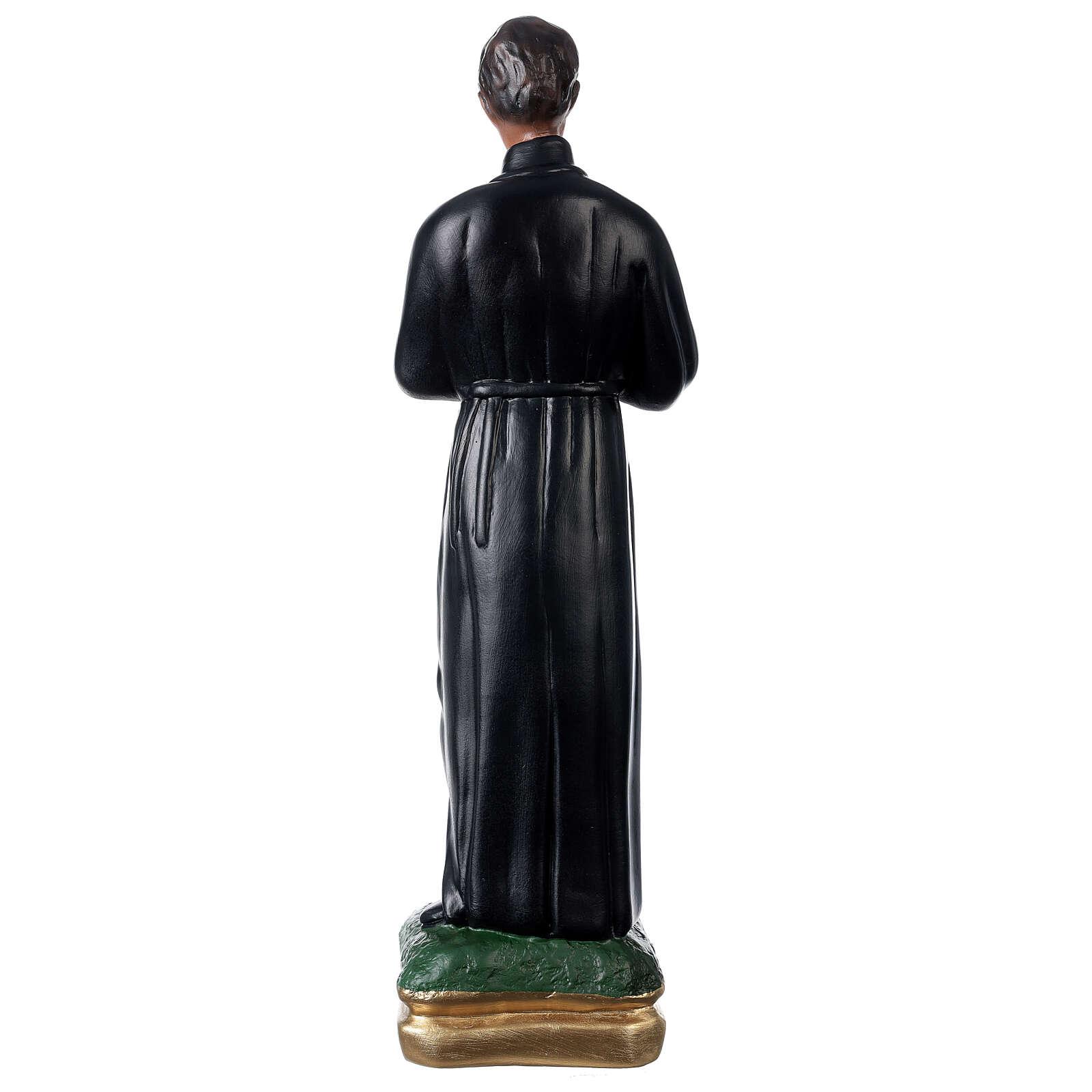 Statue plâtre Saint Gérard 50 cm peint main Arte Barsanti 4