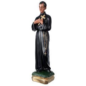 Statue plâtre Saint Gérard 50 cm peint main Arte Barsanti s3