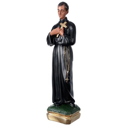 Statue plâtre Saint Gérard 50 cm peint main Arte Barsanti 3
