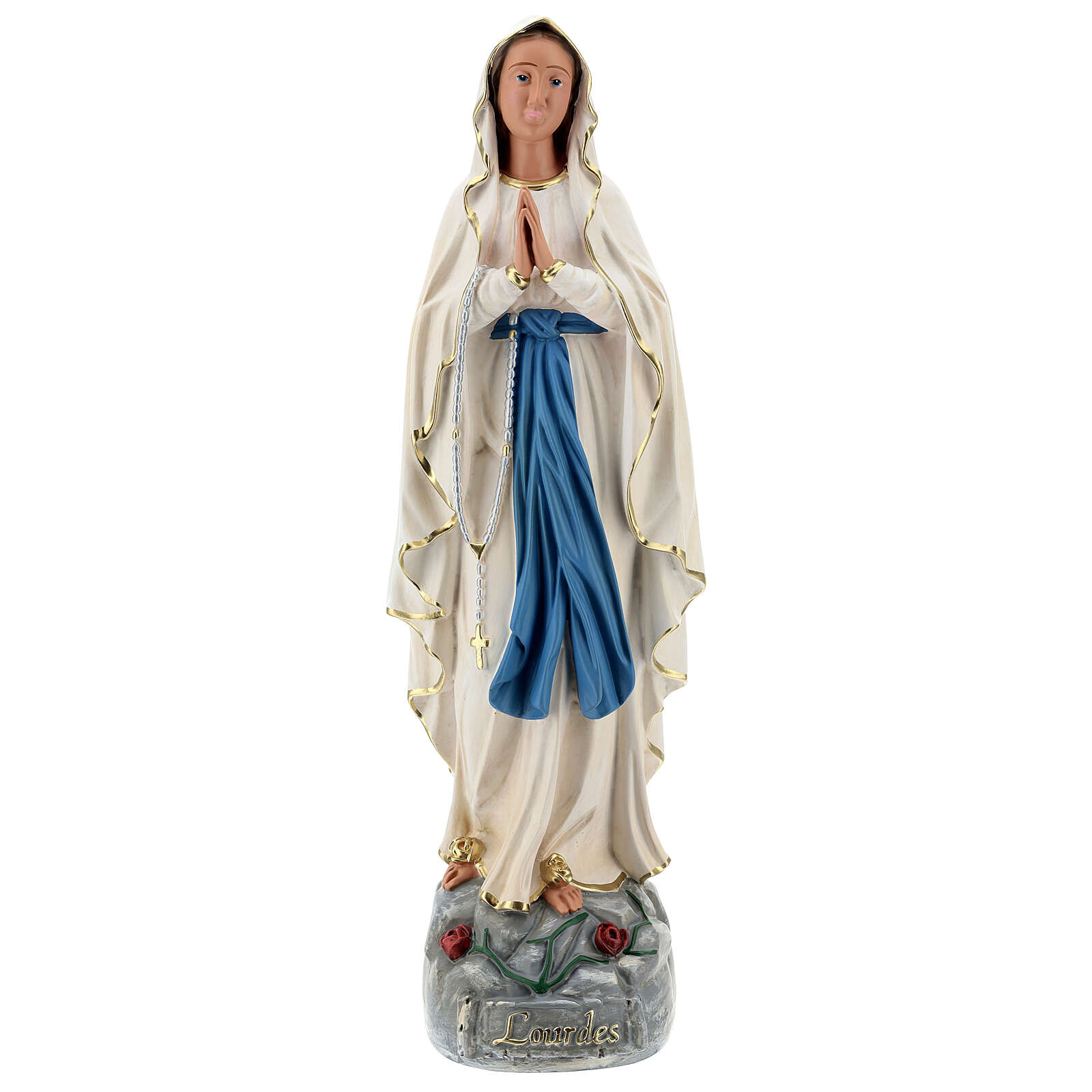 Statue of Our Lady of Lourdes resin 60 cm hand painted Arte Barsanti 4