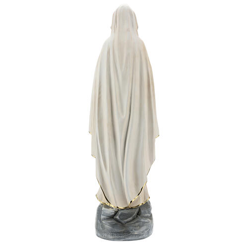 Statue of Our Lady of Lourdes resin 60 cm hand painted Arte Barsanti 6