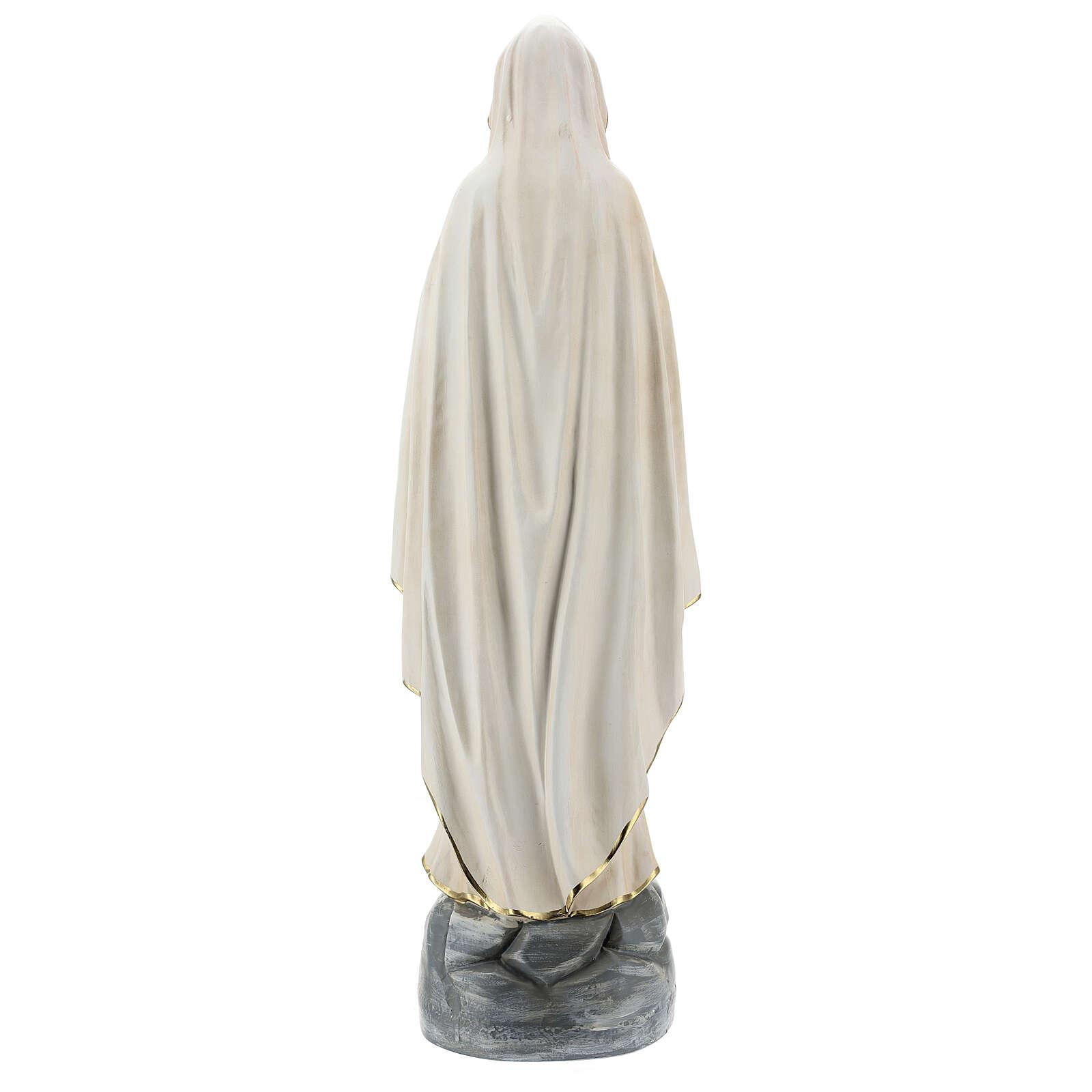 Virgen de Lourdes estatua resina 60 cm pintada mano Arte Barsanti 4