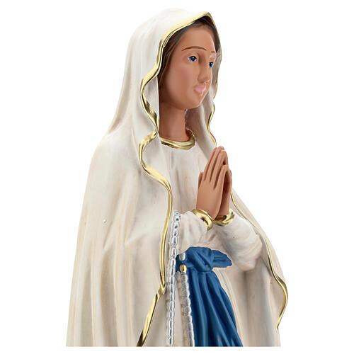 Virgen de Lourdes estatua resina 60 cm pintada mano Arte Barsanti 2