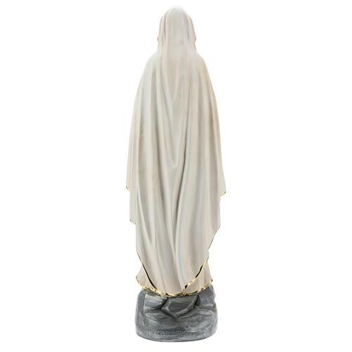 Virgen de Lourdes estatua resina 60 cm pintada mano Arte Barsanti 6