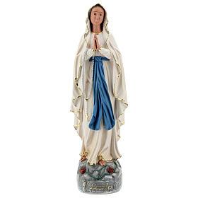 Notre-Dame de Lourdes statue résine 60 cm peinte main Arte Barsanti s1