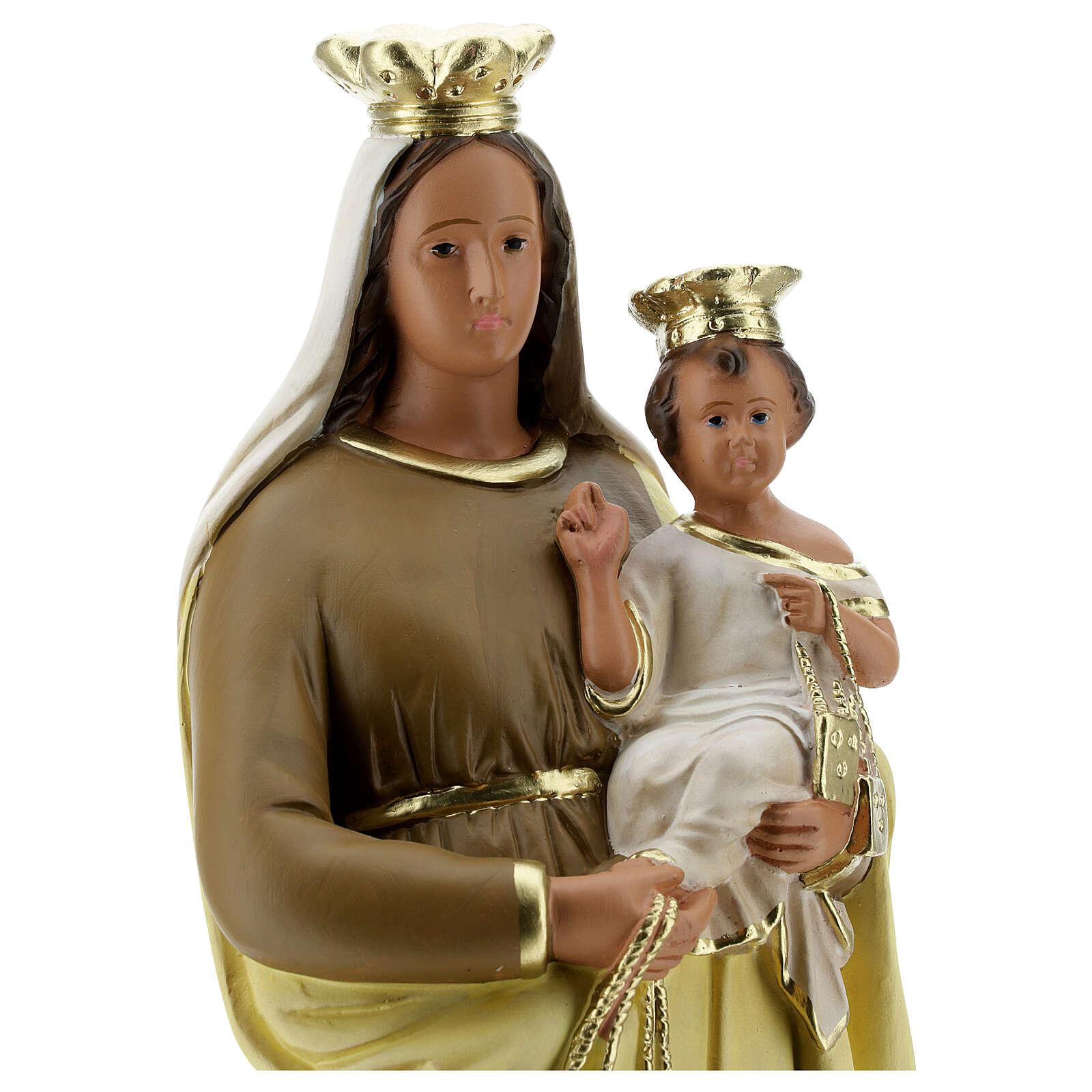Our Lady of Mount Carmel 40 cm Arte Barsanti 4