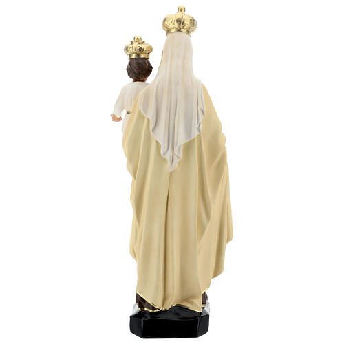Estatua Virgen del Carmen resina 60 cm pintada mano Arte Barsanti 6