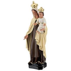 Statue Notre-Dame du Mont-Carmel résine 60 cm peinte main Arte Barsanti s3