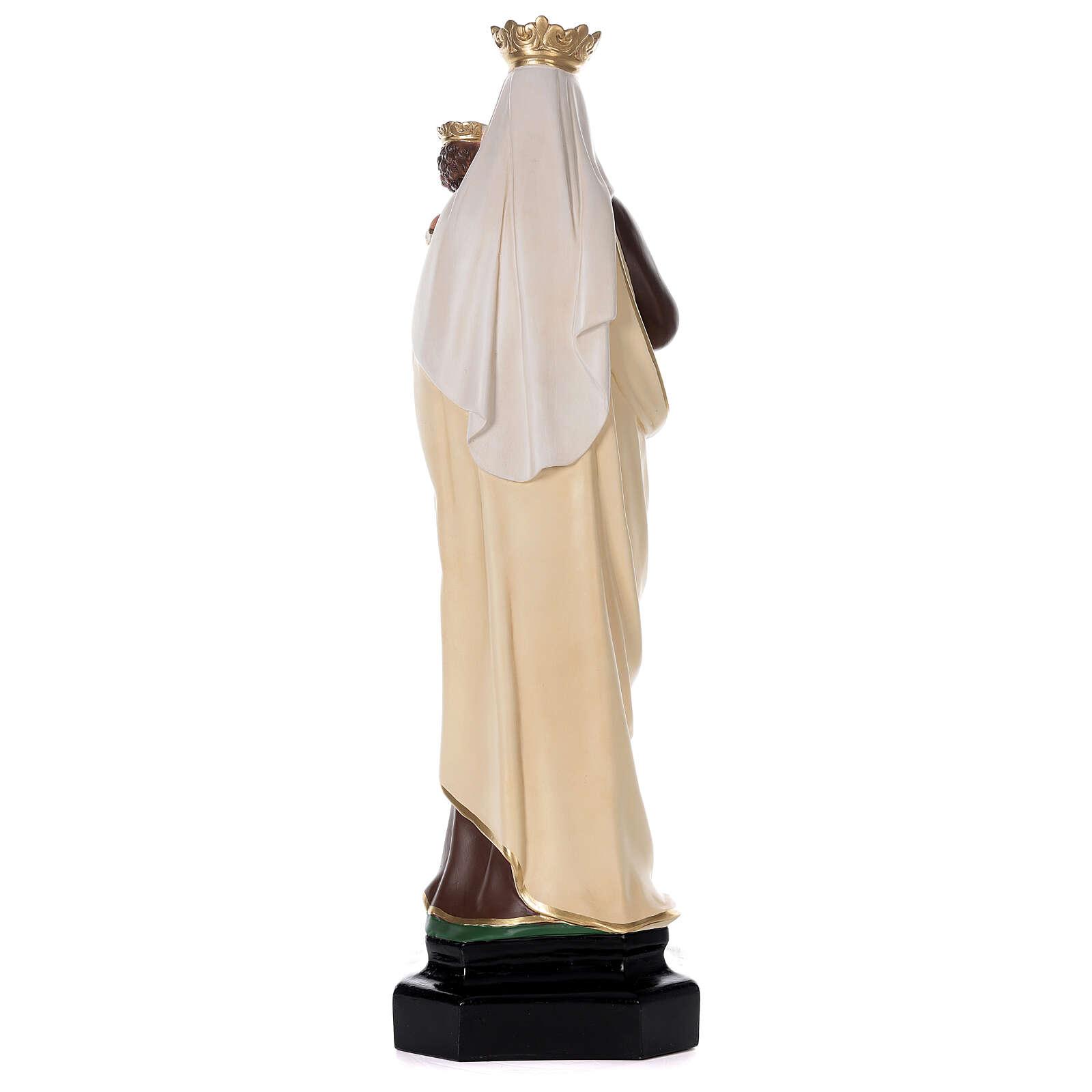 Notre-Dame du Mont-Carmel 80 cm statue résine peinte main Arte Barsanti 4