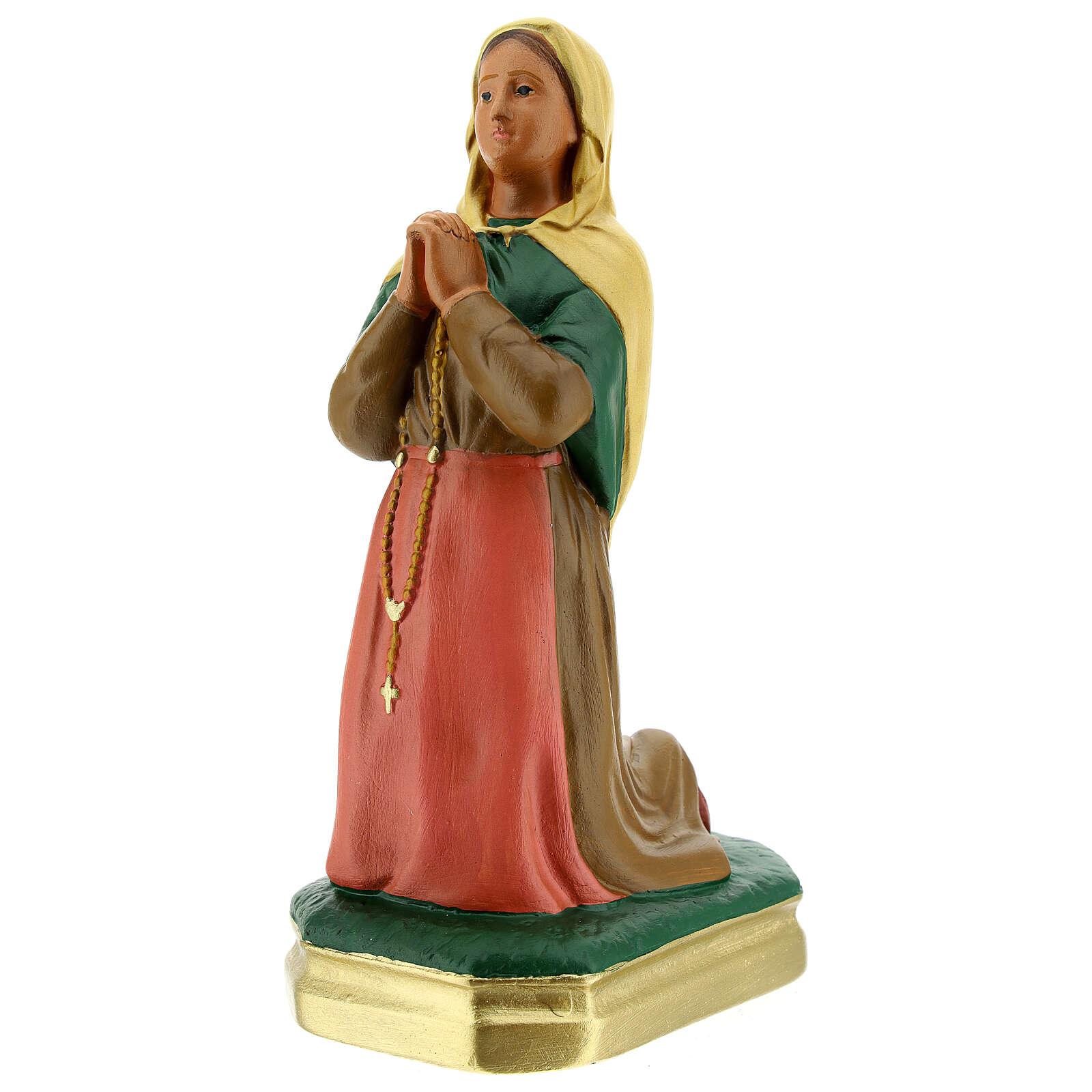 Saint Bernadette plaster statue 8 in Arte Barsanti 4