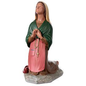 St. Bernadette hand painted plaster statue Arte Barsanti 60 cm s3