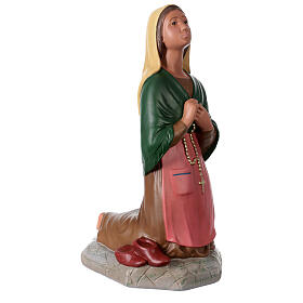 St. Bernadette hand painted plaster statue Arte Barsanti 60 cm s4