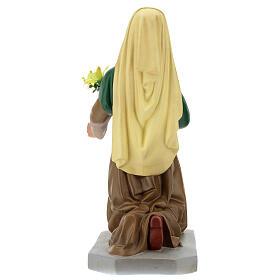 Statua Santa Bernadette 80 cm gesso dipinto a mano Arte Barsanti s6