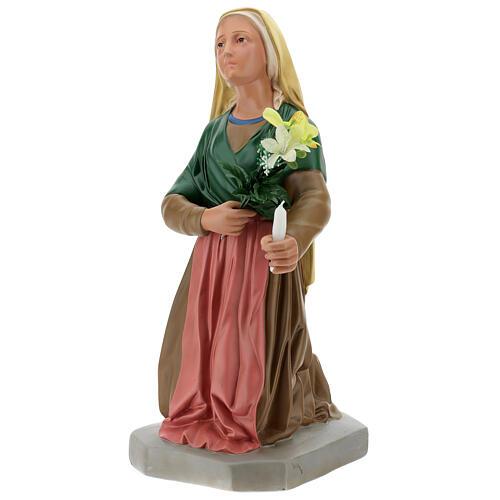 Statua Santa Bernadette 80 cm gesso dipinto a mano Arte Barsanti 3