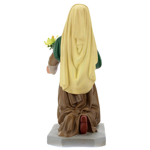 Hand-painted plaster statue of Saint Bernadette 32 in Arte Barsanti 6
